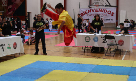 Resultados ganadores del 1er campeonato Shaolin 2019